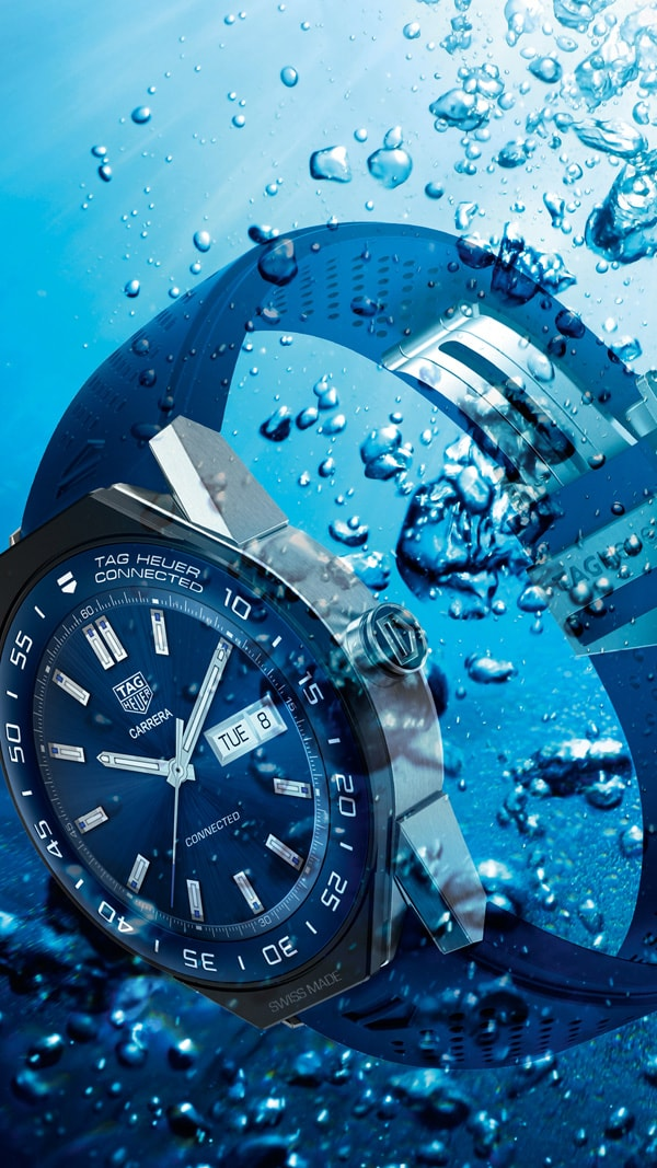 buy online 5f106 723c4 TAG Heuer 泰格豪雅|勇於創新Connected Watch AQUARACER | 譽一鐘錶