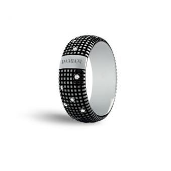 黑金鑽石戒指