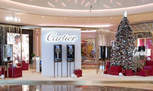 Unique Timepieces x Cartier's merry Christmas pop-up brings jingling bells and joyful festive spirit to Macau